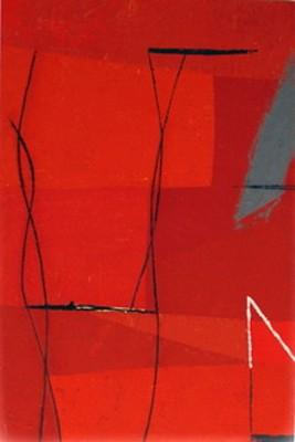 DI PIOGGIA E VELLUTO tec. Mista su tavola cm. 120 x 80 - Tommaso Cascella - Roma