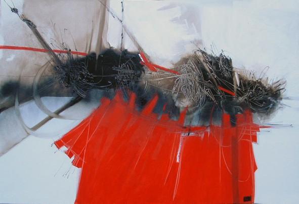 Daniela Baldo - Torino - Segno (romanzo) 80x100