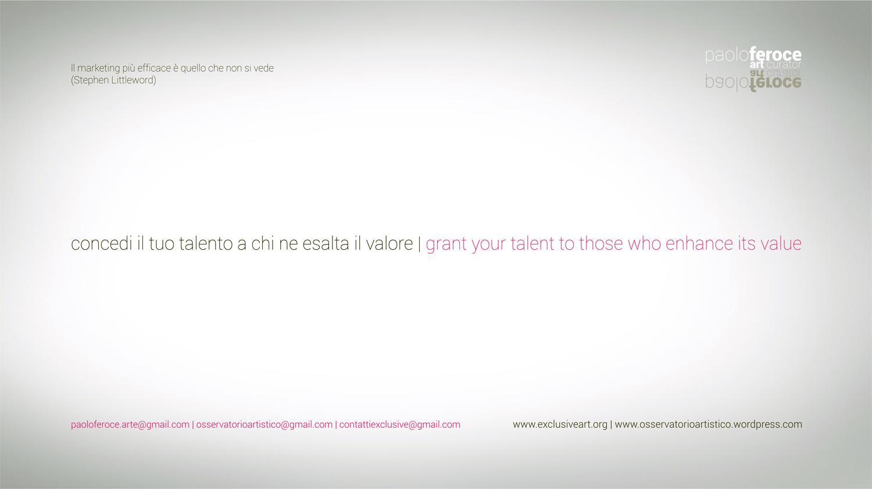 """<p>L'associazione eXclusive nasce a Teano (Caserta), città ricchissima di tesori archeologici e rinomata come il luogo del celebre incontro che sancì l'Unità d'Italia. La eXclusive coordina le collezioni d'arte contemporanea e design quali la """"Collezione dell'Unità d'Italia"""" (nata nella Reggia di Caserta nel 2004), quelle presenti alMuseo PAMe l'archiviodi vari […]</p>"""