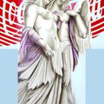 """DIEGO VALENTINUZZI """"REPORTAGE DI UN INCONTRO """" TEC MISTA SU TELA 70X100"""