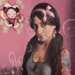 Sabrina Milazzo, Candy, 2011, olio su lino, cm 130x130