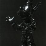 Sabrina Milazzo, Pippo nero, 2017, olio su lino cm 120x85