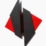 Struttura MADI # 2, 2016 cm 103x80x4 vernice su ferro
